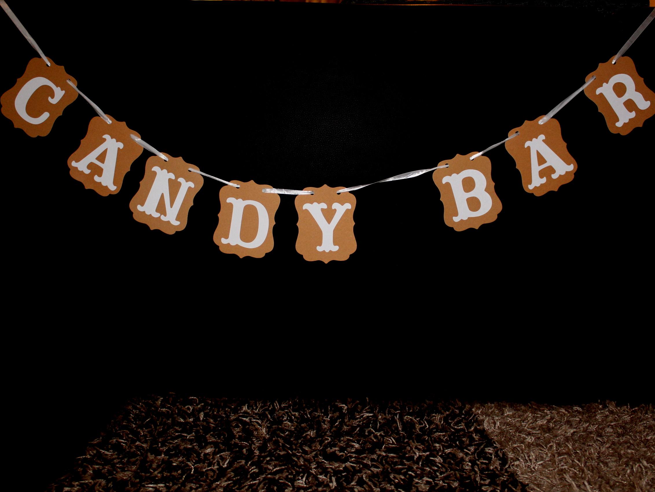 Candybar-Girlande